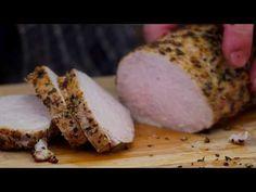 Pieczony schab z jabłkami / Oddaszfartucha - YouTube Pork Dishes, Make It Yourself, Meat, Cooking, Youtube, Diners, Food, Kitchen, Restaurants