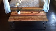 Reserved For Jennifer- Barn Wood Coffee Table And Barn Wood Side Table -modern…