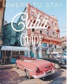 Where to stay in Cuba? That's one of the many questions people have while considering a trip to Cuba, especially as an American.
