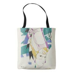 Beautiful art deco woman in hat tote bag - beauty gifts stylish beautiful cool