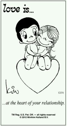 At the heart of your relationship is love and care and lots of shared laughter,. Crazy Love, What Is Love, Cute Love, Love You, My Love, Love Is Cartoon, Love Is Comic, Marriage Relationship, Love And Marriage