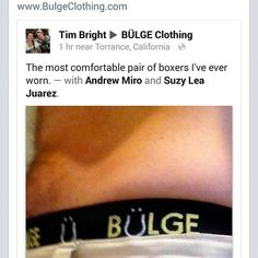 Another satisfied client  #MakeAnImpression #menstyle #bulgeclothing