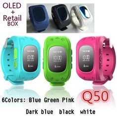 USD $37.80 - GPS Tracker Watch For Kids SOS Emergency Anti Lost GSM Smart Mobile Phone App Bracelet Wristband Alarm for Android iOS Bracelet Gps, Over App, Q50, Armband, Handy App, Gps Tracker Watch, Kids Smart, Location Finder, Wrist Watches
