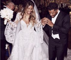 Celebrity Wedding: Ciara and Russell Wilson marry at a castle in England!