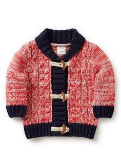 Baby Boys Knitwear & Jumpers | Shawl Neck Cardigan | Seed Heritage