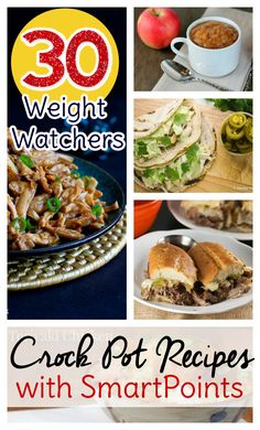 30 Weight Watchers Crock Pot Recipes with SmartPoints