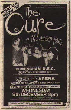 poster for The Cure Mode Poster, Punk Poster, New Poster, Poster Wall, Poster Prints, Tour Posters, Band Posters, 80s Posters, Bedroom Wall Collage