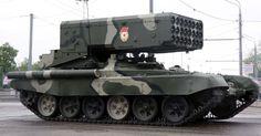 TOS-1 220 mm Multiple Rocket Launcher (Russia)