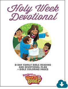 Holy Week Devotional - Digital Download