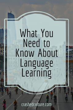 There are some things about language learning that will help in the language learning process. Unfortunately, most won't tell you these things. via @crashedculture