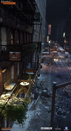 Artists from Ubisoft Show Their Work for Tom Clancy's The Division. Absolutely amazing