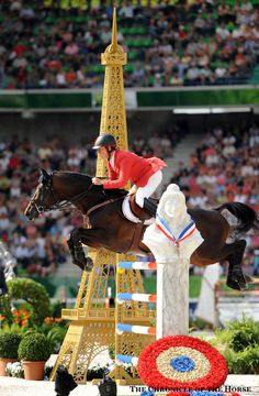 Christian Ahlmann and Codex One at the 2014 Alltech FEI World Equestrian Games in Normandy. | The Chronicle of the Horse