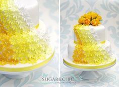 Ideas wedding cakes ombre hombre for 2019 Heart Wedding Rings, Wedding Rings Simple, Simple Weddings, Trendy Wedding, Wedding Ideas, Hombre Cake, Wedding Card Design, Yellow Wedding, Cupcake Cakes