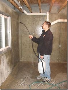 How to clean up an unfinished basement to make it look nice. I hate/am terrified of my basement, so this is all good for me to know!