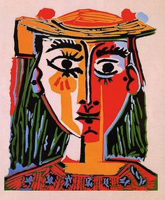 Pablo Picasso / Woman With Hat