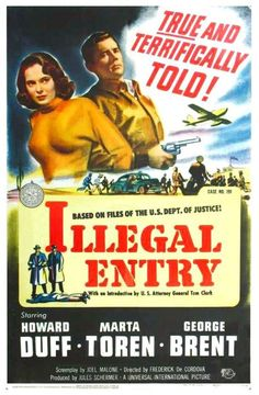 Film Noir of the Week: Illegal Entry (1949)
