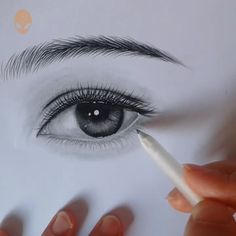 pencil drawing tutorials How To Draw Eyes With A Pencil Wolf Eye Drawing, Eye Pencil Drawing, Realistic Eye Drawing, Pencil Painting, Eye Painting, Pencil Art Drawings, Color Pencil Art, Eye Drawings, Eye Brow Drawing