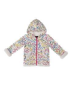 Look at this #zulilyfind! Girls Rule Rainbow Sequin Heart Hoodie - Infant & Toddler by Girls Rule #zulilyfinds