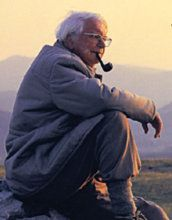 Alfred Wainwright,writer and most famous Lake District Fell Walker. Great man.