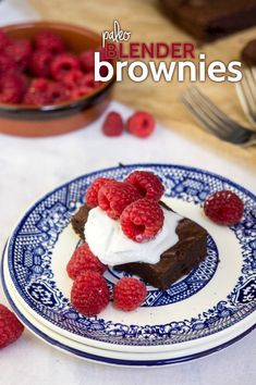 Paleo Blender Brownies — Foraged Dish @ForagedDish