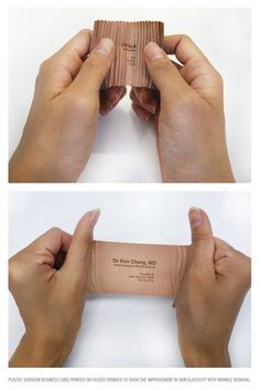 Creative Identity Business Card Concept For A Plastic Surgeon Ticket Design, Label Design, Branding Design, Stationery Design, Graphic Design, Cool Business Cards, Business Card Design, Creative Business, Corporate Identity
