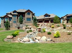 House Front Landscaping Ideasthe Ideas The Yard Home For Of Ranch ...
