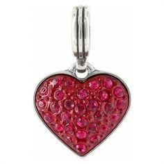 Brighton Cupid's Kiss Charm #VonMaur #Brighton #Charm #Heart~have it, love it!