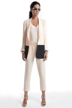 yes a pastel blazer can be a little edgy. (Jenni Kayne) by rachelle.allen.3