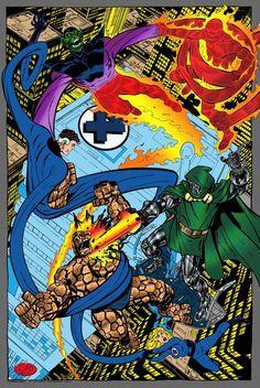 Fantastic Four VS Dr.Doom and the Super Skrull