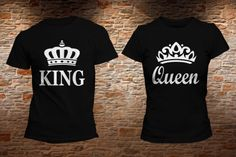 PLAYERA KING QUEEN. Realiza tu pedido en: https://www.facebook.com/shopkevs/ http://www.kevshop.com.mx/