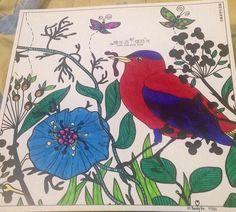 Title Birdflower And Butterflies Medium Sharpie Ultra Fine Point Permanent Marker