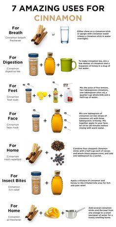 7 Amazing uses for Cinnamon