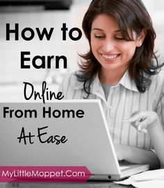After marriage and kids moms find very difficult to venture to work, this series of posts can help moms to work from home easily to get steady income while looking after kids and family