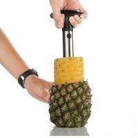 Wish | Fruit Pineapple Easy Tool Plastic/Stainless Steel Corer Slicer Peeler Parer Cutter USTS