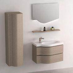 Cuenca meuble salle de bain 101x46 cm blanc brillant vasque