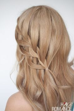Braiding is no more limited to simply grabbing a few strands and locking them together – it has reached new heights of creativity, ending up in all sorts of glorious looks for your hair! Cool Braid Hairstyles, Braided Hairstyles Tutorials, African Hairstyles, Braid Tutorials, Hairstyles 2018, Updo Hairstyle, Wedding Hairstyles, Up Dos For Medium Hair, Medium Hair Styles