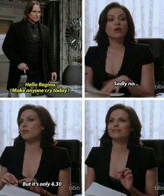 Oh Regina...