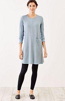 Pure Jill Luxe Tencel® swing dress