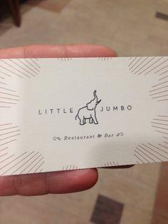 Little Jumbo Victoria Bc Business Card Cardsvictoria
