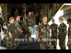 Here's to the Heroes: A Military Tribute. This is beautiful! To our Heros, thank you for your sacrifice!!