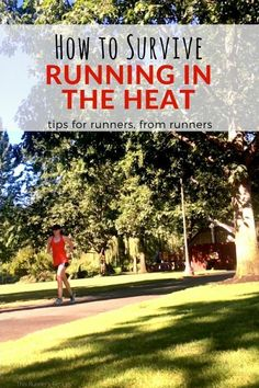 How to beat the heat while running - this month the Run It series brings you articles on the best way to deal with mid-summer running. Tips, advice, gear and more for summer running. #runninggears