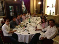 Rafa Nadal June 7 2014  Celebrando la victoria de hoy en familia. Gracias por acompañarme siempre!   Celebrating today's victory with family. Thanks for being always with me!
