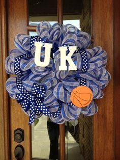 UK Wreath for March madness