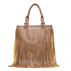 On Trend Fringe Bag.
