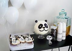Pink Peach Cakes: Buddy's Panda Party