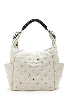Franco Studded Shoulder Bag