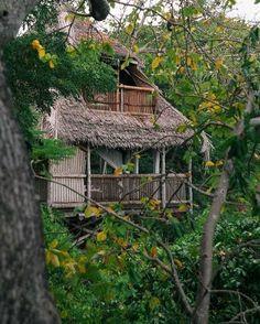 Treehouse getaway rental at Chole Mjini, Mafia Island Tanzania, www.welcomebeyond.com