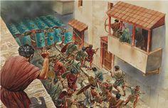 La Pintura y la Guerra. Sursumkorda in memoriam Ancient Rome, Ancient Greece, Ancient History, Military Art, Military History, Iron Age, Imperial Legion, Rome Antique, Roman Legion