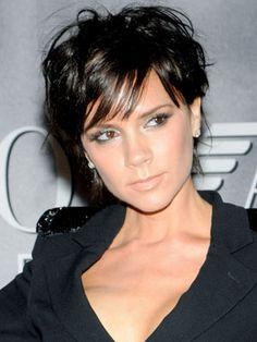 Victoria Beckham -- love her short hair cut