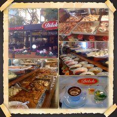 elifpak: Dilek Pastane Cafe Restaurant. Bağdat Caddesi, Caddebostan, Istanbul.